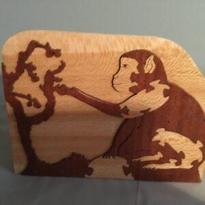 Monkey Wood Puzzle